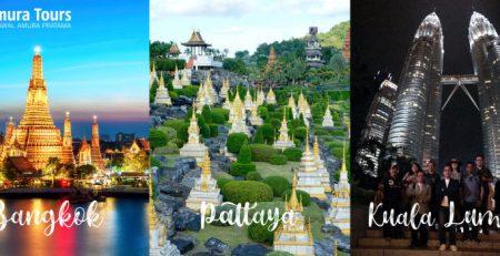 Paket Tour Bangkok – Pattaya – Kuala Lumpur