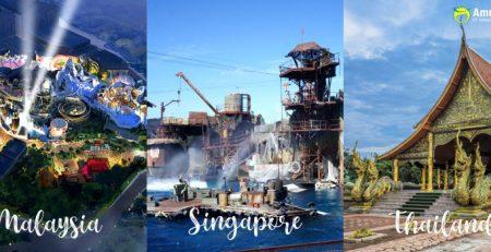 Paket Tour Malaysia - Singapore - Thailand Amura Tour