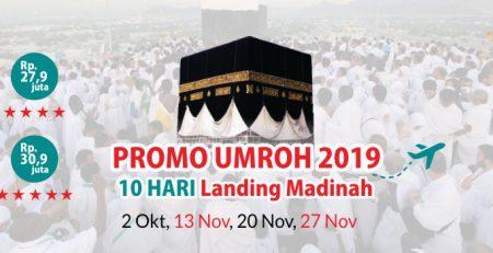 Promo Paket Umroh 10 Hari Oktober – November 2019