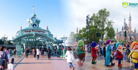 Explore Tokyo Disneyland Amura Tour Travel