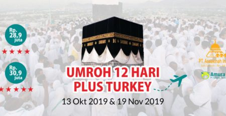 Paket Umroh 12 Hari Plus Turkey Oktober - November 2019