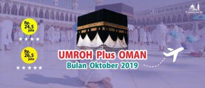 Paket Umroh Plus Oman Bulan Oktober 2019